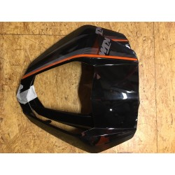 KTM protection de phare avant Noir/Orange