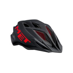 MET Casque Crackerjack black/red taille UN (52-57cm)