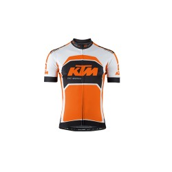 KTM maillot Factory Team Noir/Orange/Blanc *L