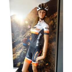 Maillot Elite Thermal Andrey Cycle Shop N/O/B *L