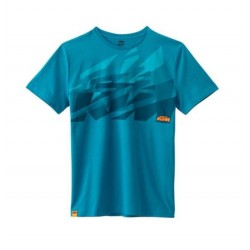 KTM t-shirt Sliced Bleu *116XS
