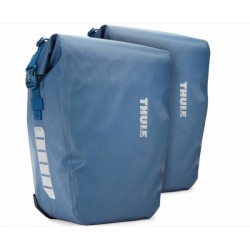 "Sacoche-Set THULE pack\'n pedal ""Shield Pannier\"" LARGE 2x25L. bleu"