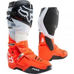 FOX Bottes 21 Instinct noir/blanc/orange taille 44