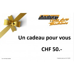 Bon d'achat CHF 50.-