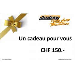 Bon d'achat CHF 150.-