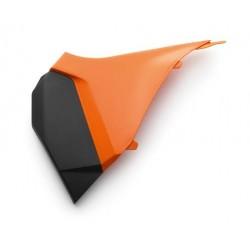 Couvert de filtre à air noir/orange Gauche  SX  11