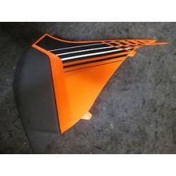 Couvert de filtre à air orange./noir L/S  CAIR/MUS