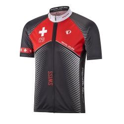 Maillot Pursuit Swiss Noir/Rouge *M