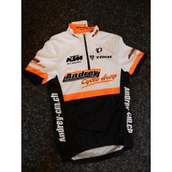 Maillot Junior LTD Noir/Orange/Blanc *L