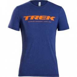 T-shirt TREK BL/O *S